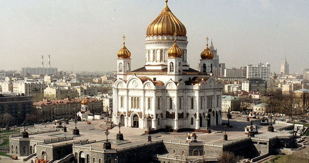 the Cathedral of Christ the Saviour - Moscow panoramic tour with a local guide
