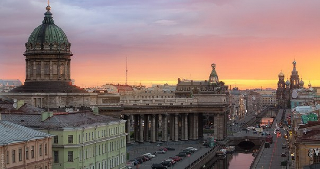 Saint-Petersburg  - panoramic tour in English