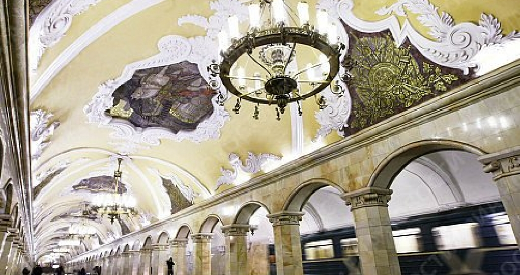 Moscow metro guided tour in English