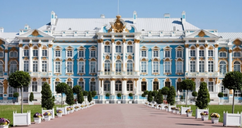 the Catherine Palace in Pushkin: guided tour in English