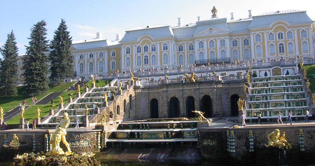 Peterhof Grand Palace guided tour in English