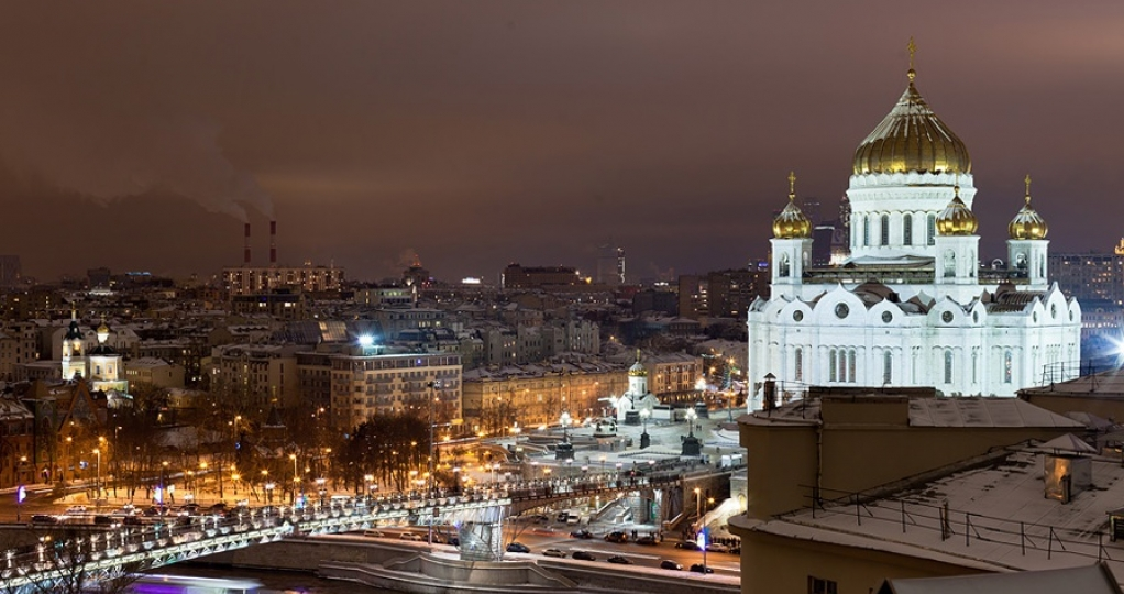 Moscow center walking tour